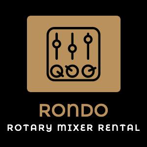 RONDO ロータリーミキサーレンタル